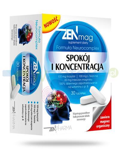 ZenMag Spokój i koncentracja 30 tabletek