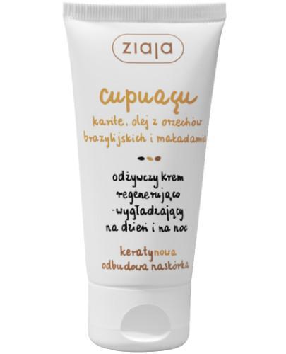 Ziaja Cupuacu odżywczy krem regenerująco-wygładzający na dzień i na noc 50 ml