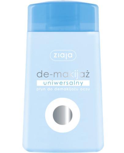 Ziaja De-makijaż uniwersalny płyn do demakijażu oczu 120 ml