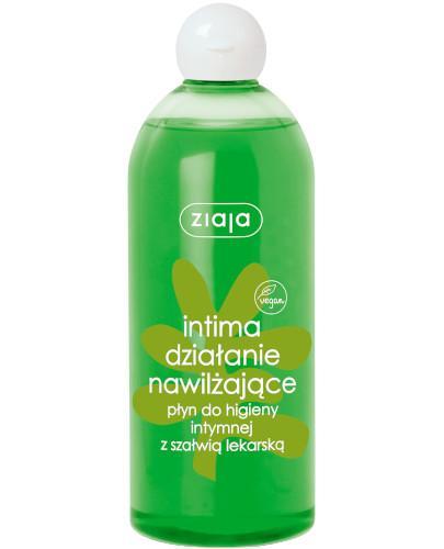 Ziaja Intima babka lancetowata ziołowy płyn do higieny intymnej 500 ml