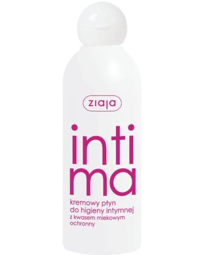 Ziaja Intima kremowy płyn do higieny intymnej z kwasem mlekowym 200 ml