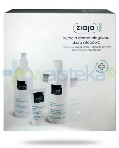 Ziaja Med Kuracja dermatologiczna skóra atopowa [ZESTAW]