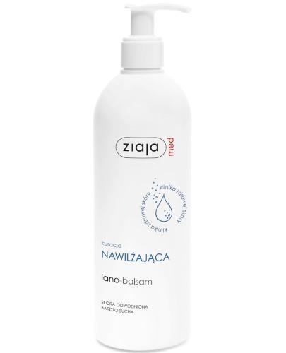 Ziaja Med Kuracja Nawilżająca lano-balsam 400 ml