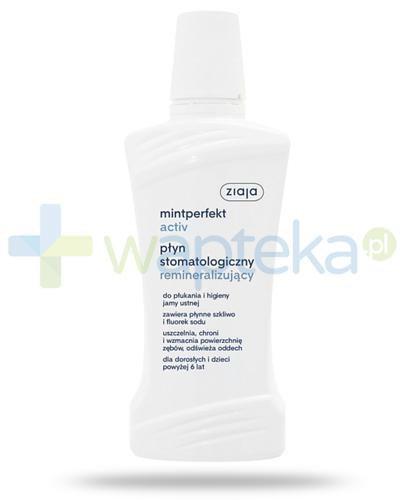 Ziaja Mintperfekt Activ płyn do płukania jamy ustnej remineralizujący 500 ml