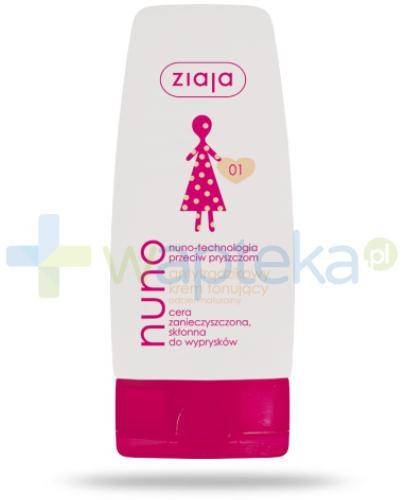 Ziaja Nuno krem antytrądzikowy tonujący odcień naturalny 60 ml