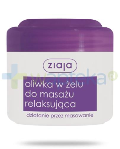 Ziaja oliwka w żelu do masażu relaksująca 180 ml