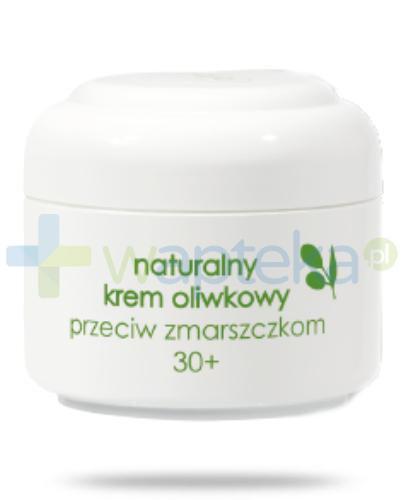Ziaja Oliwkowa Naturalny krem oliwkowy przeciw zmarszczkom 30+ 50 ml 14337