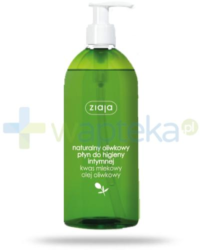 Ziaja Oliwkowe oliwkowy płyn do higieny intymnej 500 ml