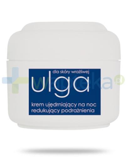 Ziaja Ulga dla skóry wrażliwej krem ujędrniający na noc redukujący podrażnienia 50 ml