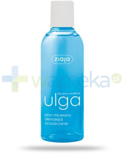 Ziaja Ulga dla skóry wrażliwej płyn micelarny demakijaż oczyszczanie 200 ml