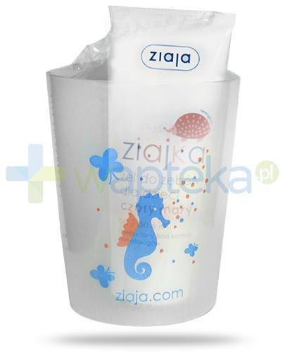 Ziaja Ziajka Czary mary żel do zębów dla dzieci 2-6 lat 50 ml + kubek [ZESTAW]