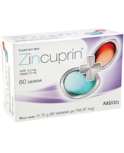 Zincuprin 60 tabletek