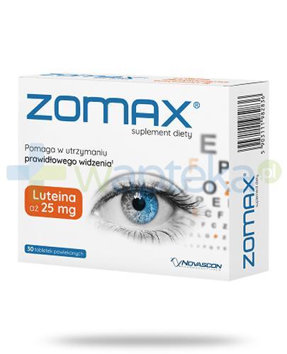 Zomax na utrzymanie prawidłowego widzenia 30 tabletek
