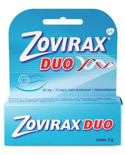 Zovirax Duo krem 2 g