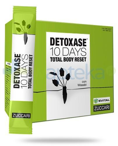 Zuccari Detoxase oczyszczanie organizmu Program 10 dniowej detoksykacji 10 saszetek