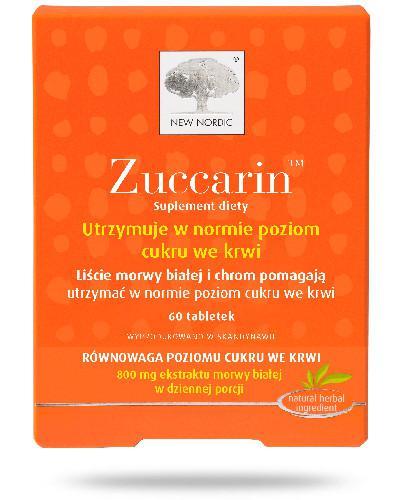 Zuccarin 60 tabletek