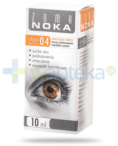 Zuma Noka Ulga dla oczu 0,4% krople nawilżające z hialuronianem 10 ml