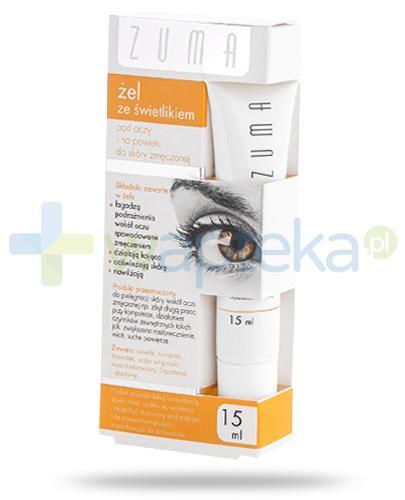 Zuma żel ze świetlikiem pod oczy i na powieki do skóry zmęczonej 15 ml