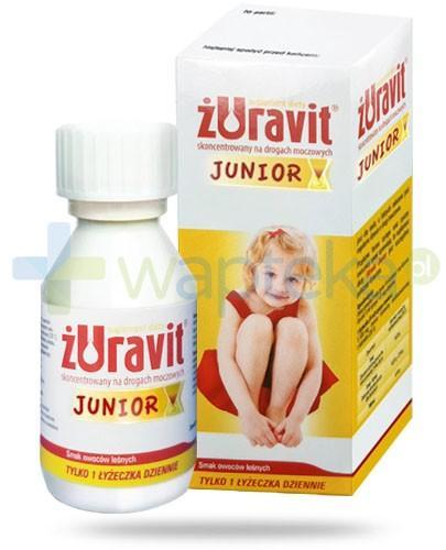 Żuravit Junior syrop o smaku owoców leśnych 100 ml
