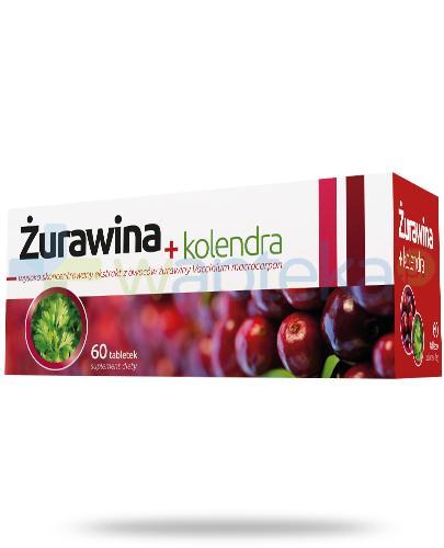 Żurawina + kolendra 60 tabletek